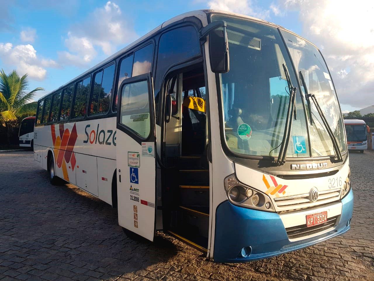 ÔNIBUS NEOBUS SPECTRUM ROAD VW MAN 17230 ANO 2012